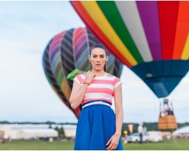 Style File: Circle Skirts and Hot Airballoons